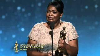 Octavia Spencer Wins Supporting Actress: 2012 Oscars