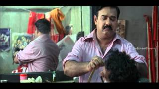 Vamanapuram Bus Route Malayalam Movie | Jagadish | goes to | Maniyan Pilla Raju's Saloon width=