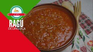 Ragu de linguiça - Receita italiana - Culinaria direto da Italia