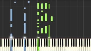 Joe Cocker - You are so beautiful - piano tutorial