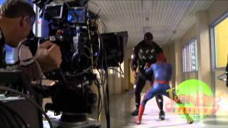 Behind the Scenes of The Amazing Spider-Man width=