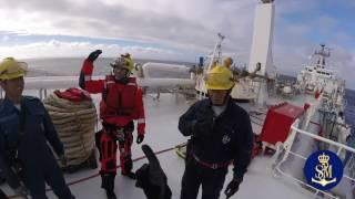 Video entreno explicacion marineros