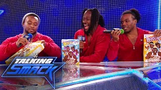 The New Day arrives to Team Blue: WWE Talking Smack, May 23, 2017 (WWE Network Exclusive)