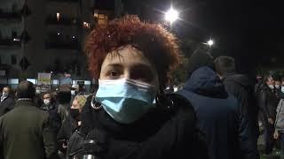 COSENZA: NUOVA MANIFESTAZIONE DI PROTESTA, TENSIONE CON LE FORZE DELL'ORDINE