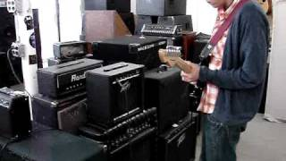 Peavey Blazer 158 Combo Amp Demo Video