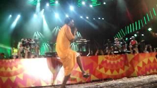 Seu Jorge tirando onda em Recife