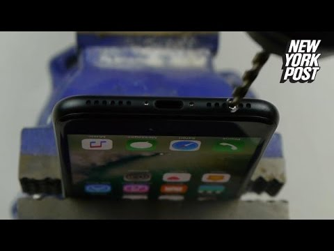 Cum sa-ti faci gaura de jack pentru iPhone
