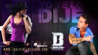 J Balvin - Yo te Lo Dije | Official Audio Lyrics | @jbalvin