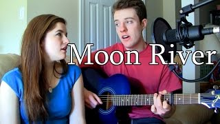 Moon River - Audrey Hepburn Acoustic Cover | Lyrics | (Craig & Olivia)