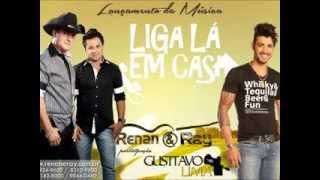 MÚSICA LIGA LÁ EM CASA PARTICIPAÇÃO ESPECIAL GUSTTAVO LIMA