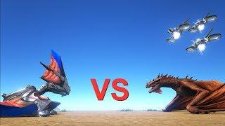 Tek Tapejara vs Wyvern and 100 Attack Drones    Cantex