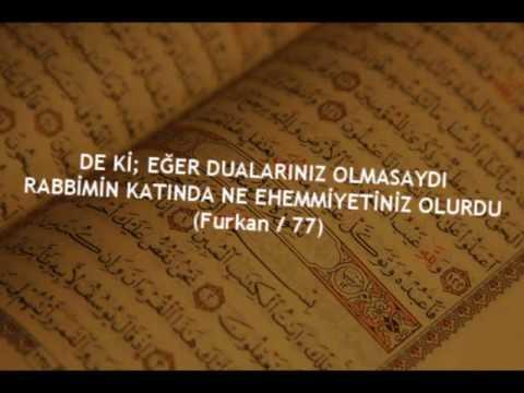 Dua (Dua'nın Önemi)
