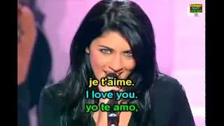 L'amour est un oiseau rebelle - Nolwenn Leroy - Carmen Habanera - French & English Lyrics Paroles