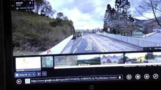 north coast 500 safety video  GARVE CROSSING width=