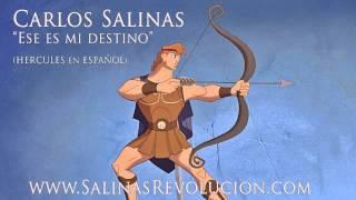 CARLOS SALINAS  - HERCULES (Disney Español cover)