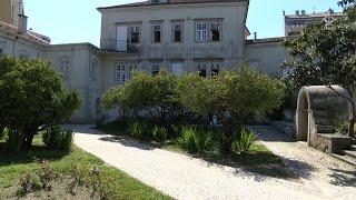 Refugiados em Lisboa recebem visita