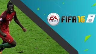 FRANCE VS PORTUGAL 1-0 FIFA 16 REMAKE - EDER GOAL + TROPHY CELEBRATION