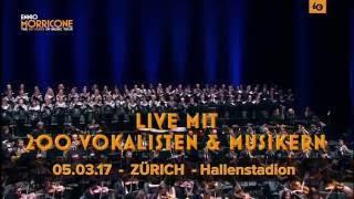 Ennio Morricone - 05.03.2017, Zürich - Hallenstadion - Schweiz