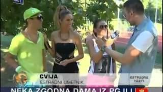 Rada Manojlovic, Cvija & DJ Vujo - Intervju - Estradne vesti - (TV DM Sat 08.08.2013.)