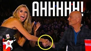Howie Mandel Gets Hypnotised on America's Got Talent | Magicians Got Talent