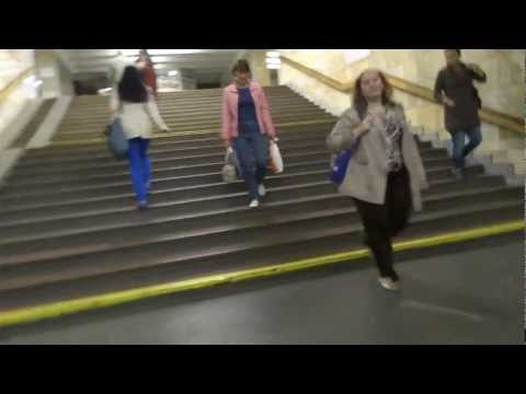 Another ride on the subway – Kiev, Ukraine
