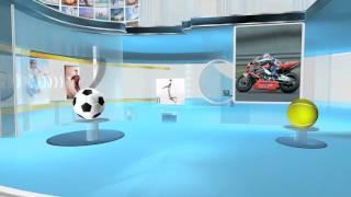 virtual reality Virtual studio sports a1