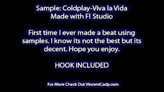 Coldplay Viva la Vida Rap Beat With Hook