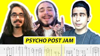 Mateus Asato - Pyscho Post Jam (with TABS) - by Riff_Hero