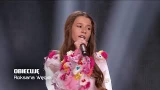 Roksana Węgiel- Obiecuje| The Voice Kids 2