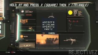 Call of Duty: Black Ops 3 - Secret Cheat Menu in The Data Vault! (FIRST CHEAT CODE)
