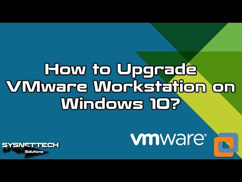 How to Update VMware Workstation to Latest Version