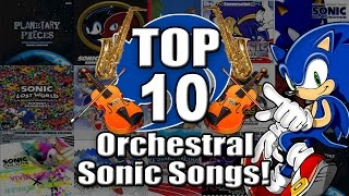 Top 10 Orchestral Sonic Songs! - Piplupfan77 width=