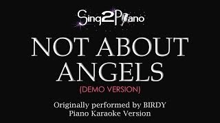 Not About Angels (Piano Karaoke Demo) Birdy