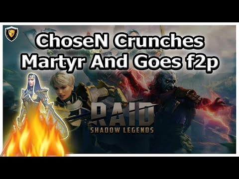 RAID Shadow Legends | ChoseN Crunches Martyr And Goes f2p