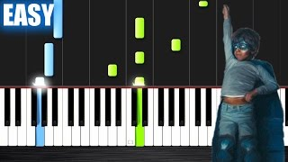 The Chainsmokers & Coldplay - Something Just Like This - EASY Piano Tutorial by PlutaX