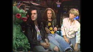 The Wonderstuff Interview 1988 with Gilbert The Alien (Get Fresh)