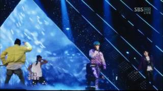 BIGBANG_0325_SBS Inkigayo_BLUE