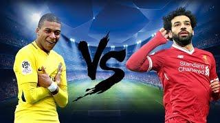 Mohamed Salah vs Kylian Mbappé 2018 Goles y Jugadas