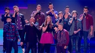 The Finalists sing U2's Beautiful Day - Live Week 6 - The X Factor UK 2012