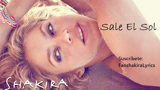 01 Shakira - Sale El Sol [Lyrics]