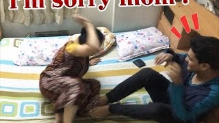 Crazy Condom Prank On Indian Mom width=
