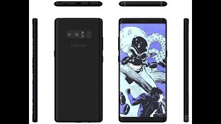 Samsung Galaxy Note 8 Final Design, Official Release Date & Specs!