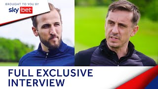 Harry Kane shares all with Gary Neville - his future, England career & more   The Overlap