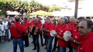 Fetes de Vieux Boucau 2016 ouverture chants musique basque