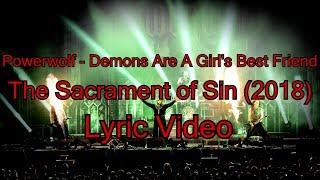 Powerwolf - Demons Are A Girl's Best Friend (Lyric Video)