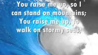Josh Groban   You Raise Me Up with lyrics