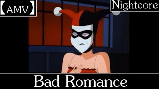 【AMV】 Bad Romance (Halestorm Cover) - Joker/Harley