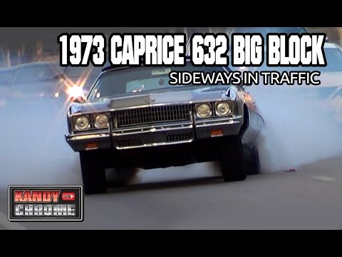 Download Video KandyonChrome:  PILLSBURY 1973 CAPRICE 632 BIG BLOCK SIDEWAYS