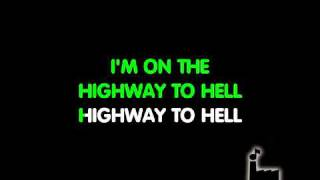 AC/DC - Highway to Hell (Karaoke)