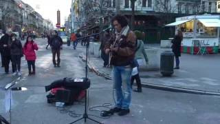 Procol Harum, A Whiter Shade of Pale - Busking in the streets of Brussels, Belgium